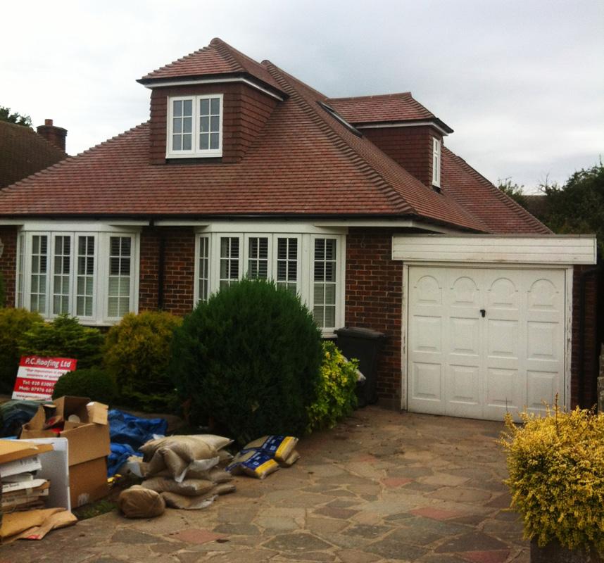 Concrete Tile Roof Orpington Pc Roofing