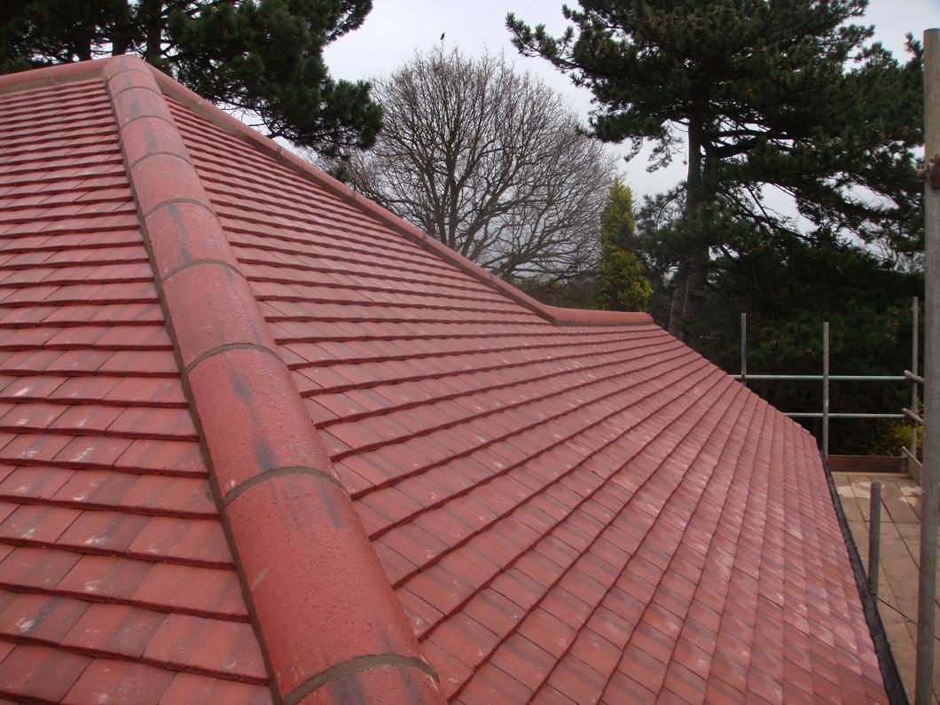 Concrete Tile Roof Lee Pc Roofing